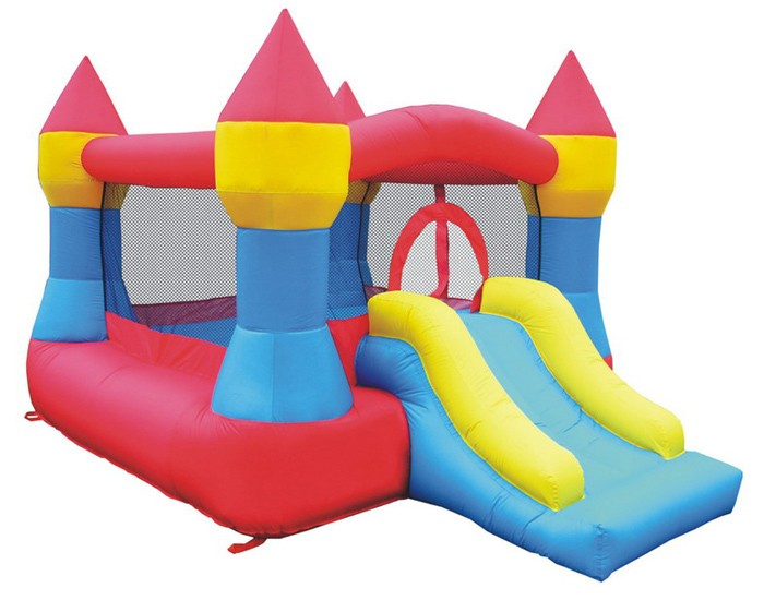 USED Castle Bounce and Slide - Inflatable Bounce House