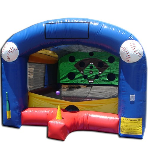 Home Run Challenge Interactive Game - Commercial Grade Inflatable