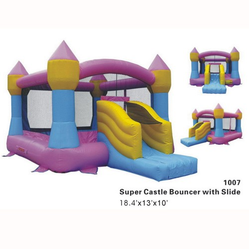 Castle Bouncer with Slide