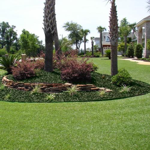 YardWise Landscape Rubber Mulch Green