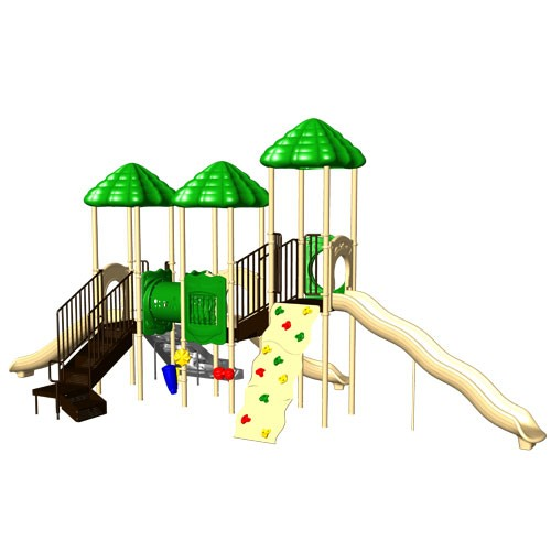 Up and Away Natural Commercial Playset
