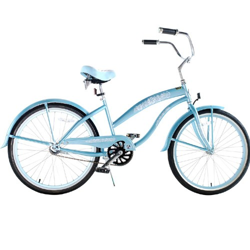 Baby Blue Ladies Beach Cruiser
