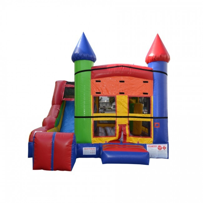 5 x Jump & Splash Castle Combo - Commercial Inflatable Combo