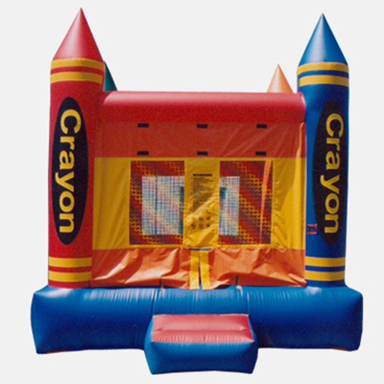 Crayon Bouncer - Commercial Inflatable Bounce House