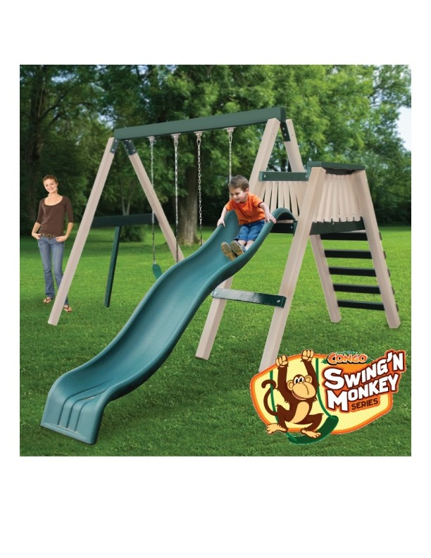 Congo Swing'N Monkey Play Set