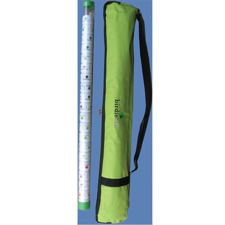 Birdie Shag Stick with 20 Balls and Carry Bag Set for Birdie Ball Golf