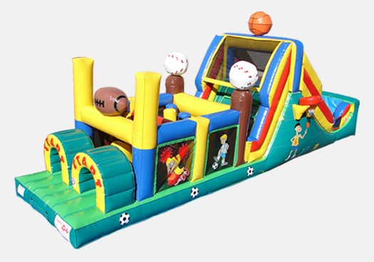 Backyard All Star Course - Commercial Inflatable Obstacle Course