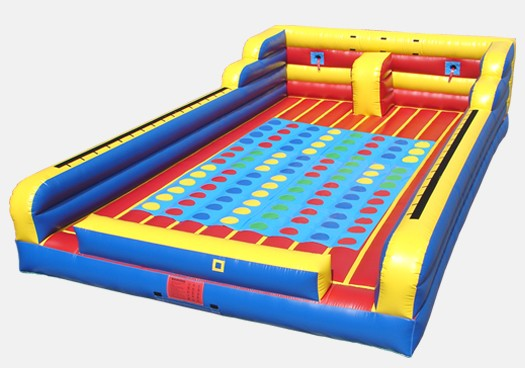 Bungee, Joust & Twister Combo- Commercial Inflatable