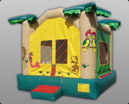 Jungle Bouncer - Commercial Inflatable Bounce House