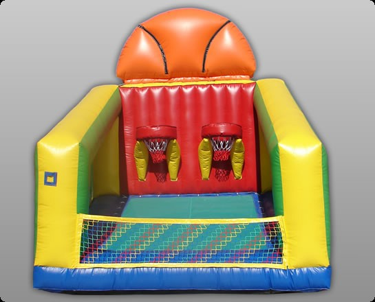 Basketball Challenge Arena -  Commercial Grade Inflatable Game