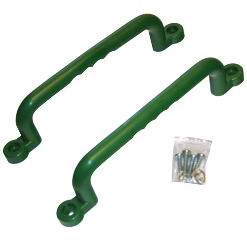 KidWise 12 Inch Swing Set Hand Grips (Set of 2) Green