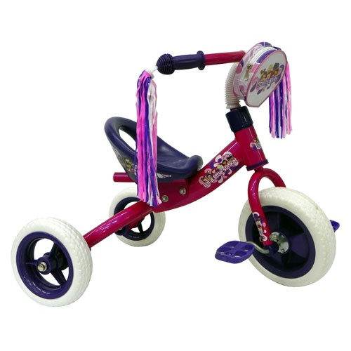 StinkyKids Bucket Rider Tricycle - Purple