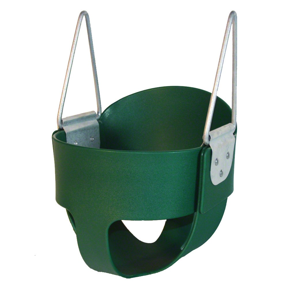 Kidwise Full Bucket Swing without Chain- Multiple Colors Available