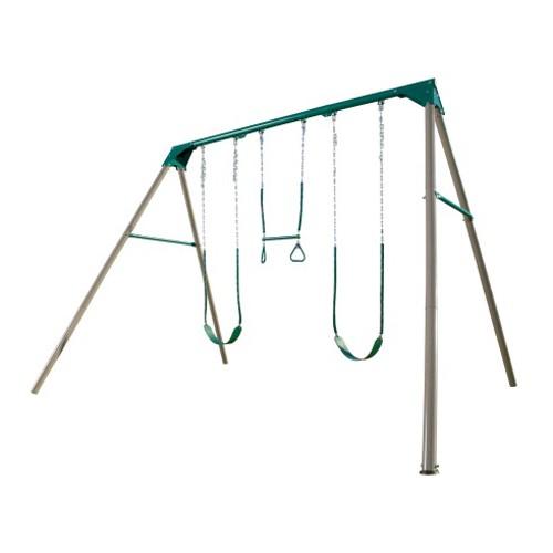 Lifetime 10-Foot Swing Set (Earthtone Colors)
