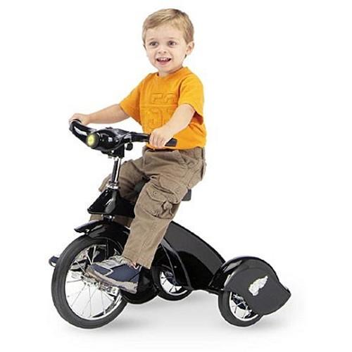 Morgan Cycle Retro Style Black Hawk Steel Tricycle