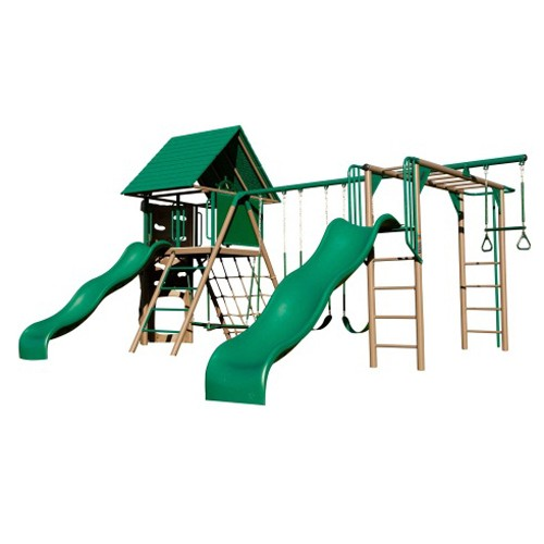 Lifetime Double Slide Deluxe Playset (Earthtone Colors)