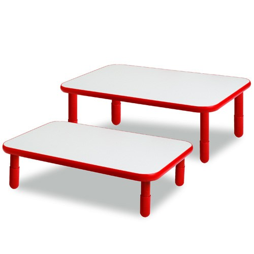 Angeles® Baseline® Rectangular Table, Multiple Sizes and Colors