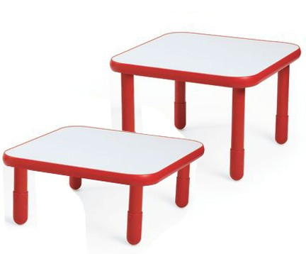 Angeles® Baseline® Square Table, Multiple Sizes and Colors