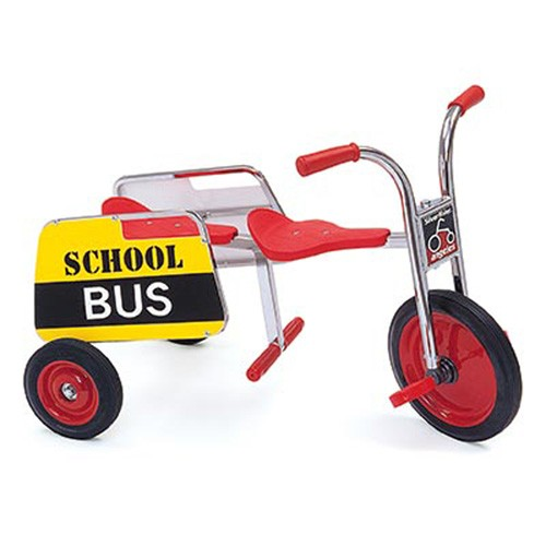 Angeles SilverRider® Tandem Trike School Bus, 3-8 Years Age