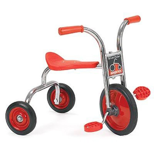 Angeles® 10 Inch SilverRider® Pedal Pusher Trike, 24-36 Months