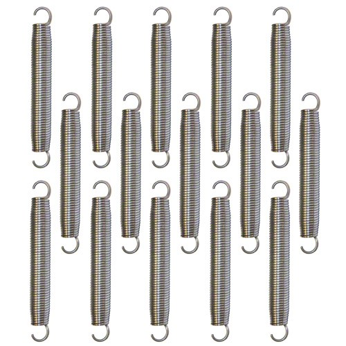 Replacement 8.6 Inch Trampoline Springs - Set of 15
