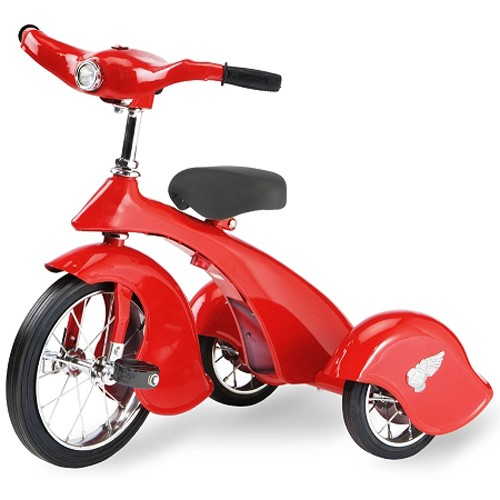 Morgan Cycle Retro Style Red Bird Steel Tricycle
