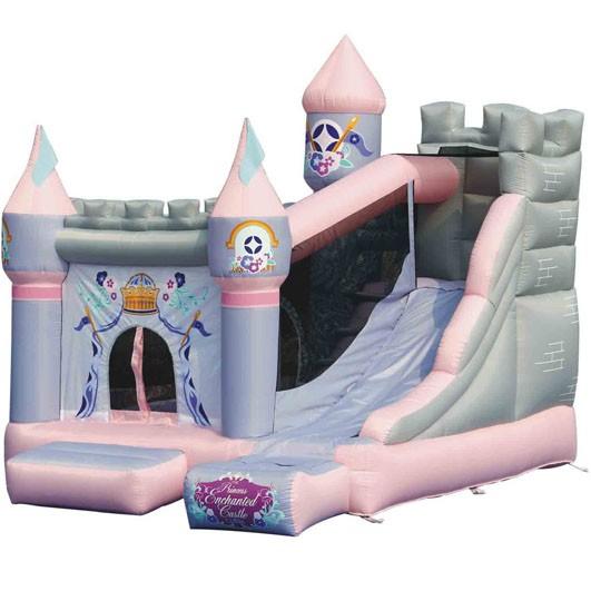 KIDWISE Princess Enchanted Castle  w/Slide
