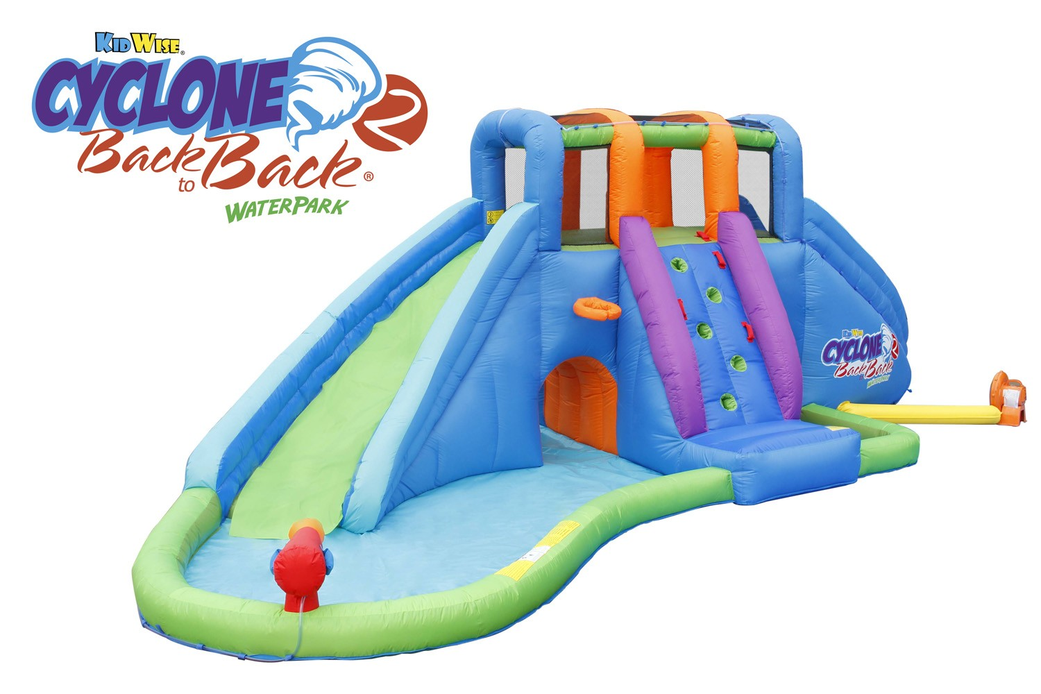 Cyclone 2 Back to Back® Waterpark and Lazy River