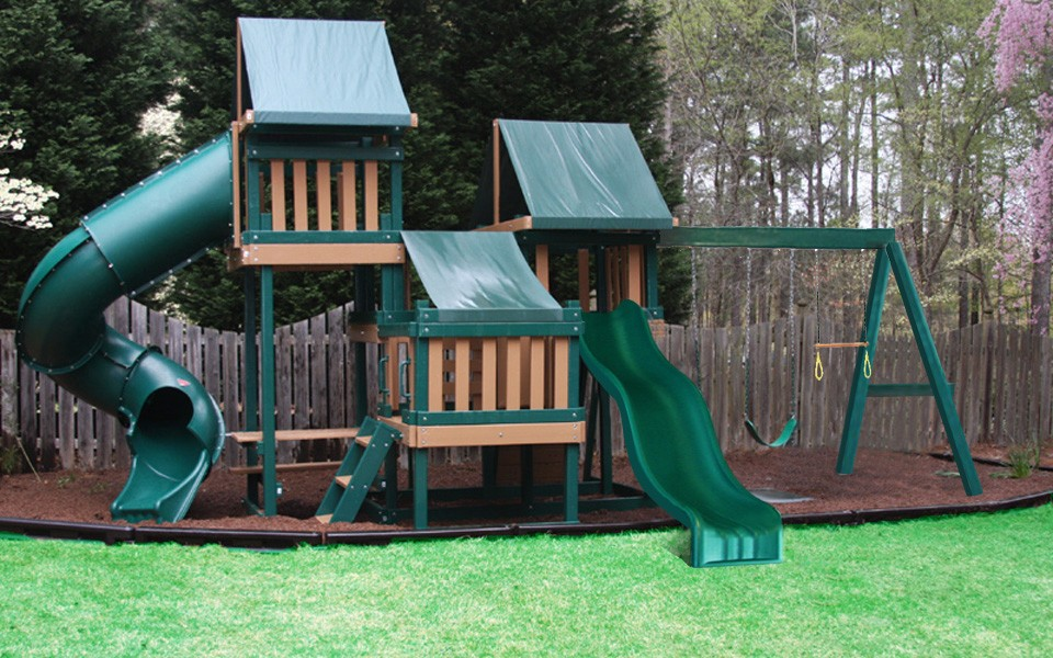Monkey Play Set Package #4 Green and Cedar