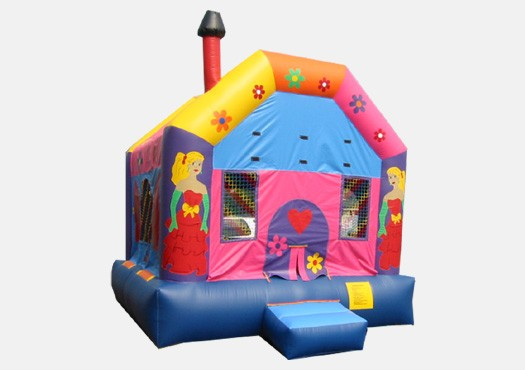 Princess House Bouncer - Commercial Inflatable Bounce House