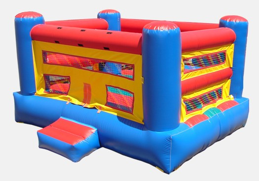 Boxing Ring Bouncer - Commercial Inflatable Bounce House