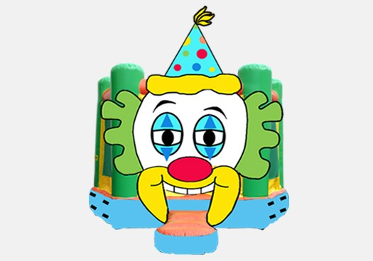 Clown Bouncer - Commercial Inflatable Bounce House