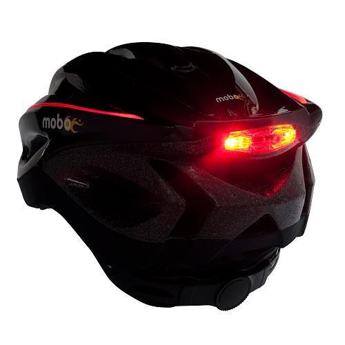 Helmet with Lights on