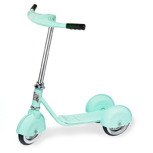Morgan Cycle Retro Scooter Aqua