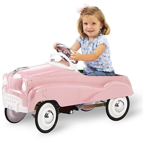 Retro Pedal Car (Multiple Colors Available)