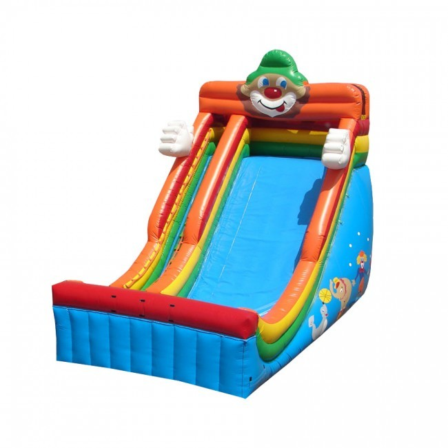 24' Circus Themed Single Lane Slide - Commercial Grade Slide