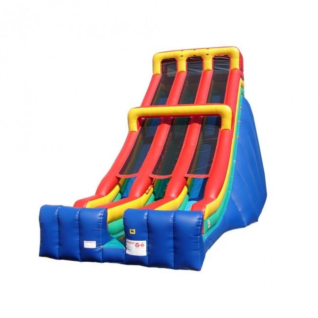 28' Double Lane Slide - Commercial Grade Slide