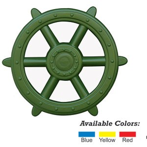 Green Ships Wheel - Playset Accessories