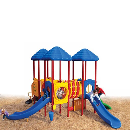 Up Front Playful Commercial Playsystem with Kids