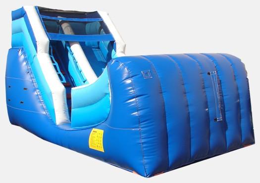 12' Ocean Theme Wet & Dry Slide - Commercial Inflatable Slide