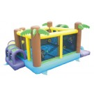 KidWise Monkey Explorer Jumper - Commercial Grade Bounce House