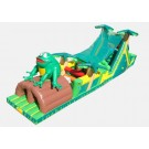 Tropical Obstacle Challenge (with frog) - Commercial Inflatable Obstacle Course