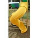 Super Tube Slide for 7 Ft Deck Height - Yellow