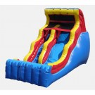 18' Double Drop - Commercial Inflatable Waterslide