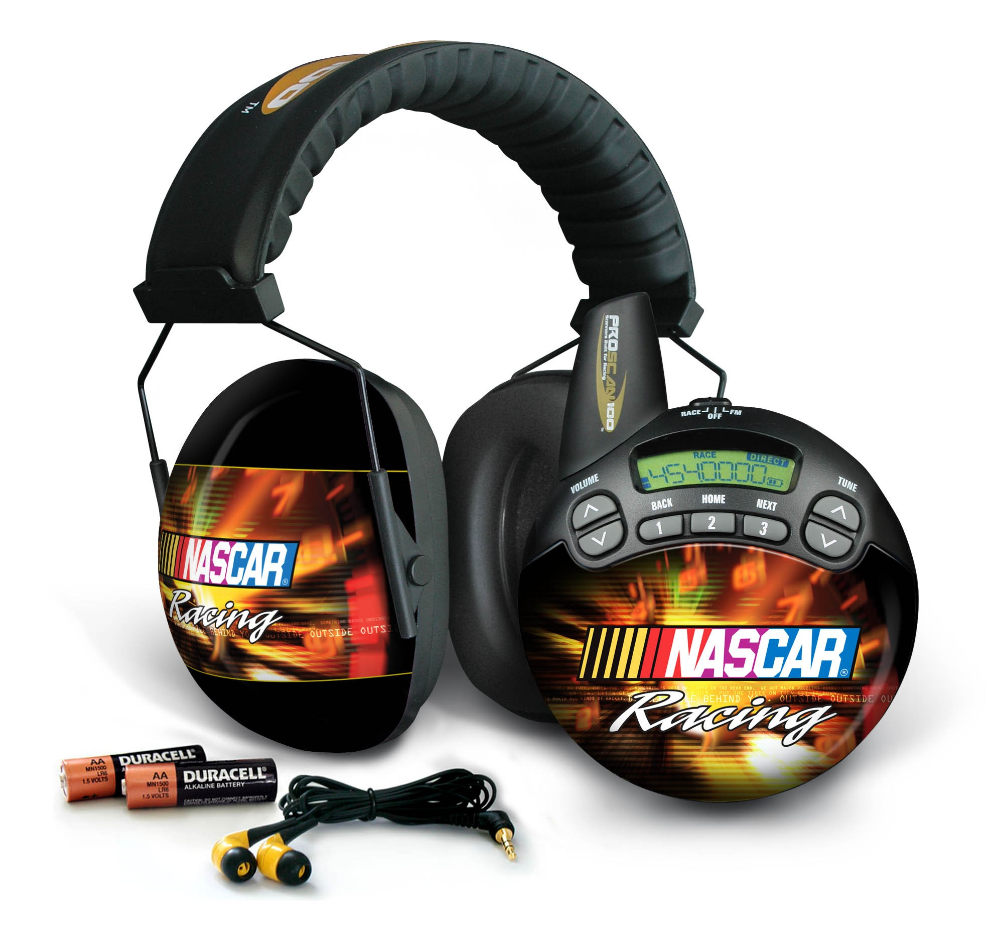NASCAR Racing ProScan 100 Trackside Scanner and Earmuff
