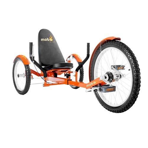 Mobo Triton Pro – The Ultimate Three Wheeled Cruiser - Orange
