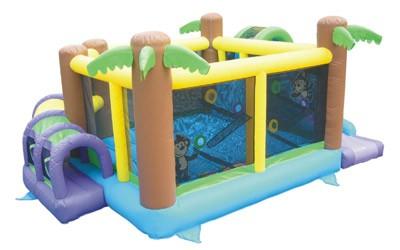 KidWise Monkey Explorer Jumper - Commercial Grade Bounce House