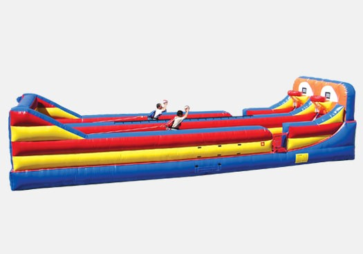 Bungee & Hoop Shoot Out Combo - Commercial Inflatable Game