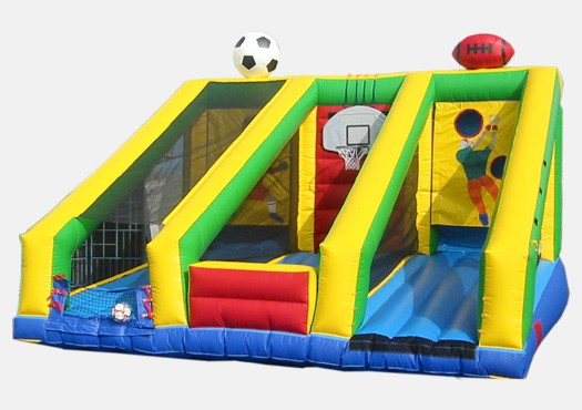 3 in 1 Sports Challenge - Commercial Inflatable Game