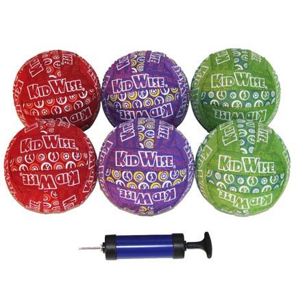 6 Pack of 6 inch Neoprene Balls